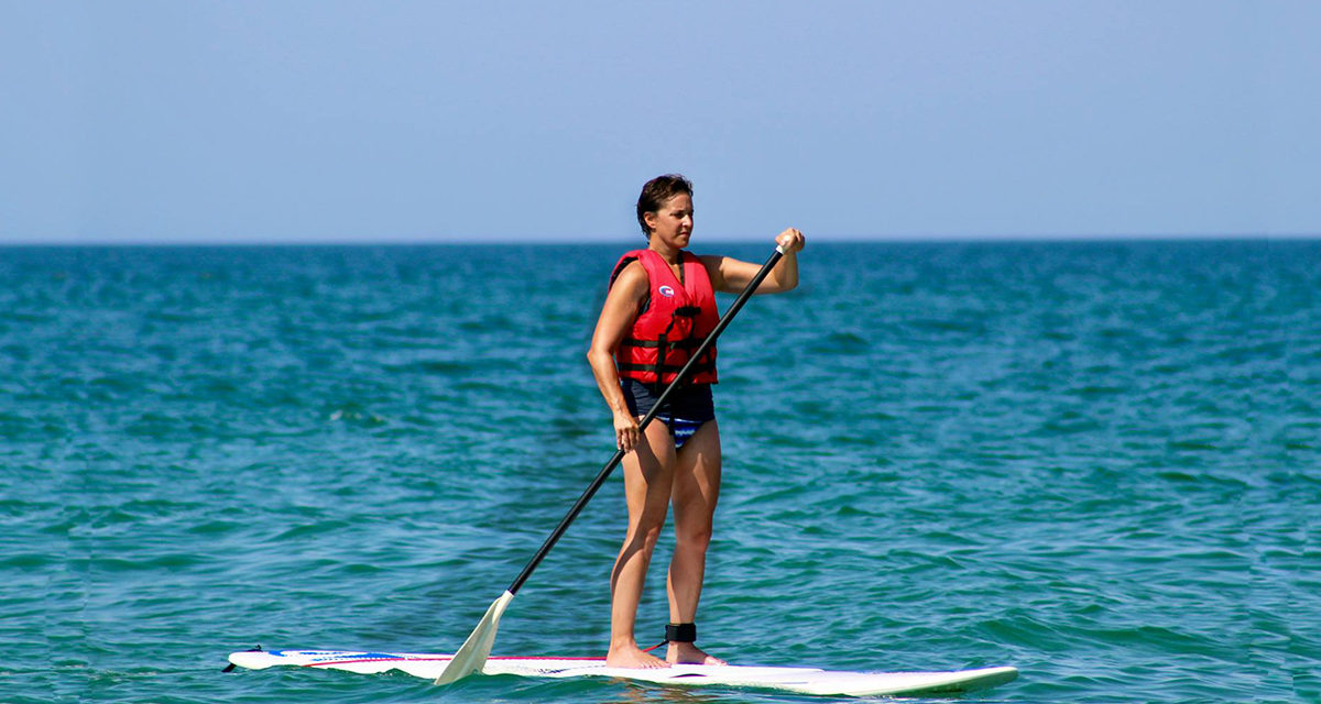 Paddle Boarding: Good for the Core and the Soul