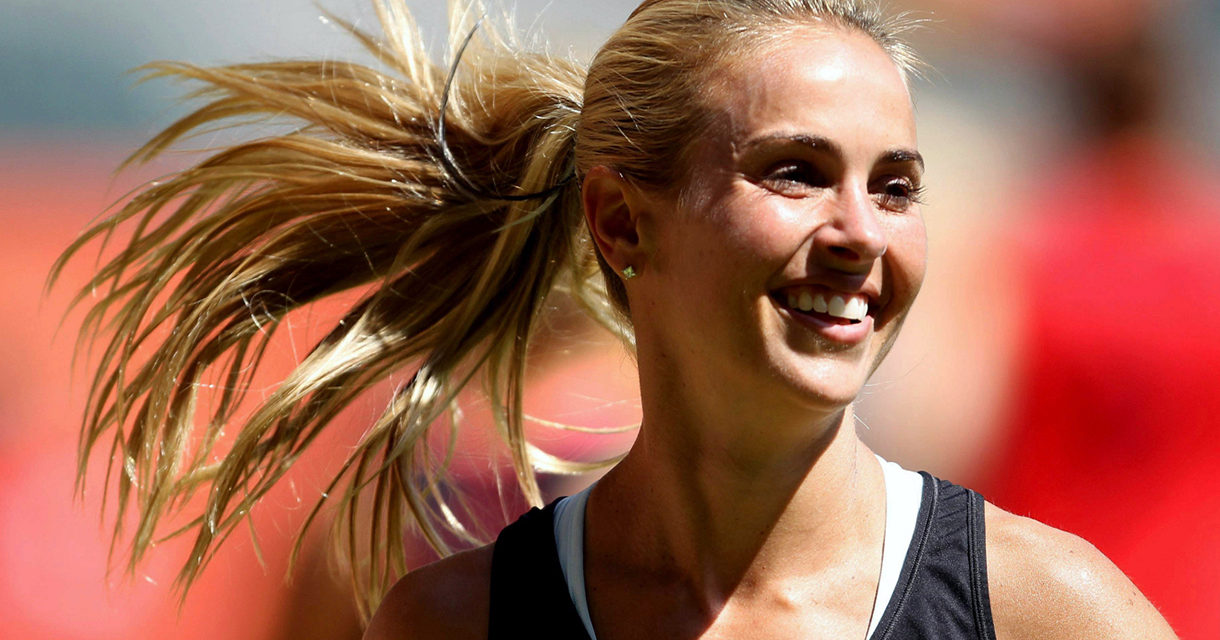 Pro Soccer Player Heather Mitts is Empowering Pregnant Women