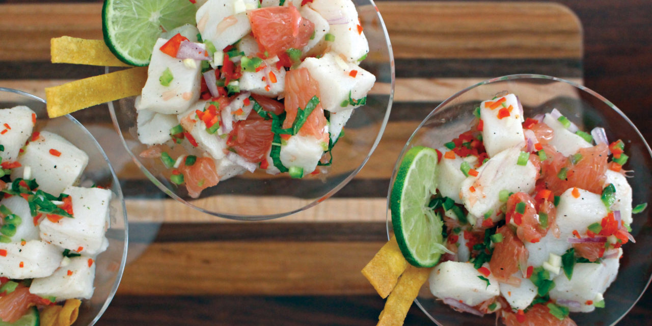 South American Sea Bass Ceviche