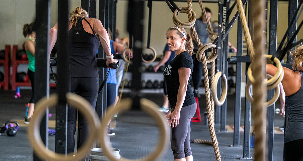 Jocelyn Weidner Is Going to Make You Work for Your Fitness